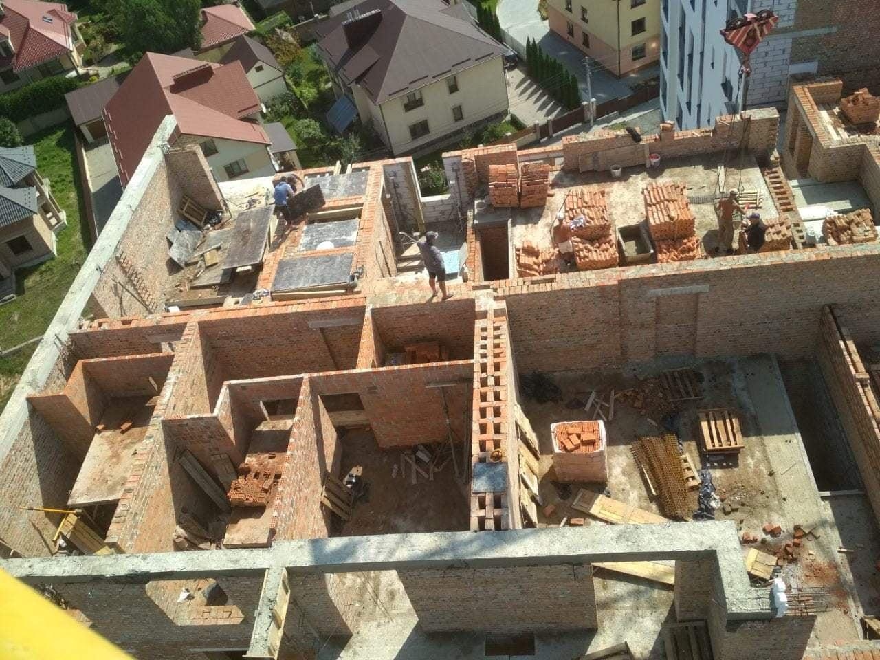 будівництво житлового будинку «Липинський»